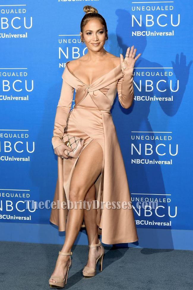 Jenna Dewan Joins Derek Hough in Chic Sheer Outfit at NBC