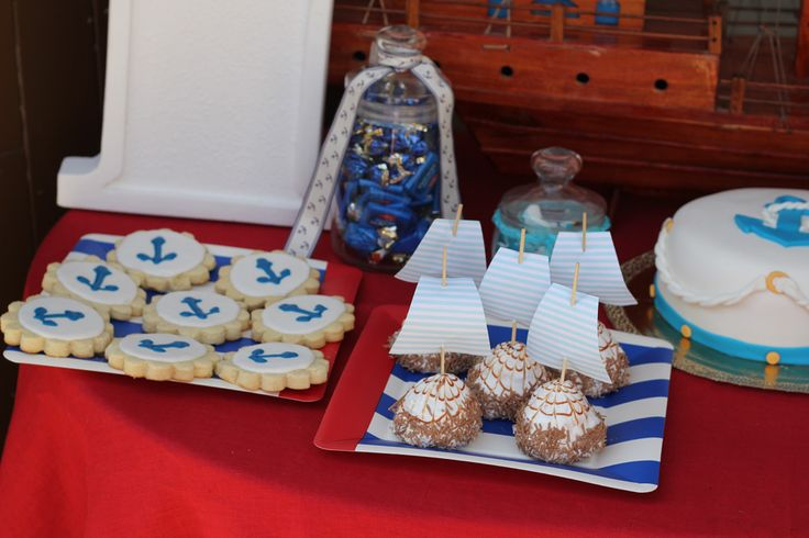 1 Birthday, sea theme, anchor, food, candy bar, marshmallow, cakes, marmalade, cake, якорь, морская тема, вечеринка в морском стиле, Первый день рождения, детский день рождения, закуски, еда, праздничный стол, сладкий стол, зефир, пирожные, мармелад, торт