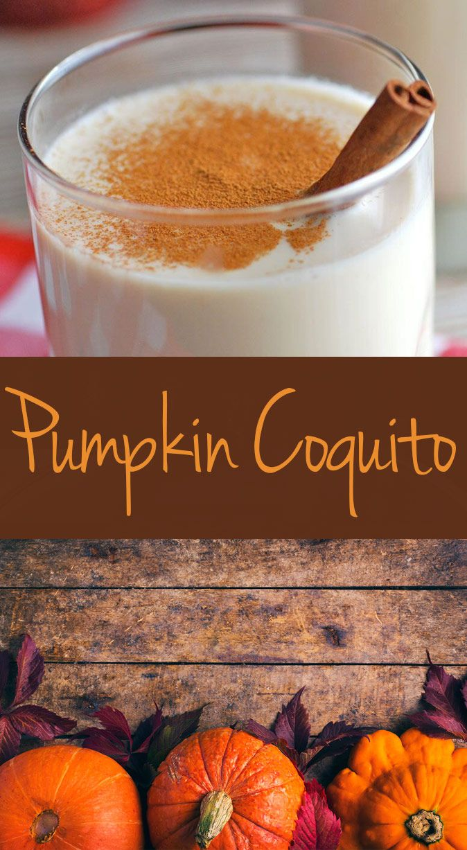 Savor the flavors of fall with this Pumpkin Coquito!