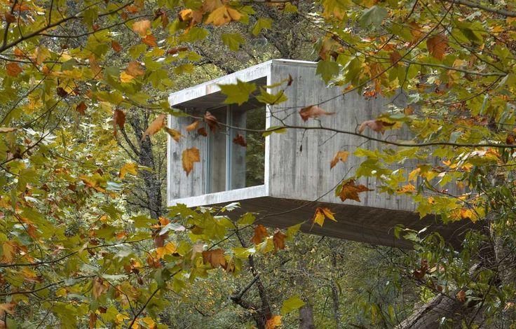 house in Gerês by CORREIA RAGAZZI ARQUITECTOS