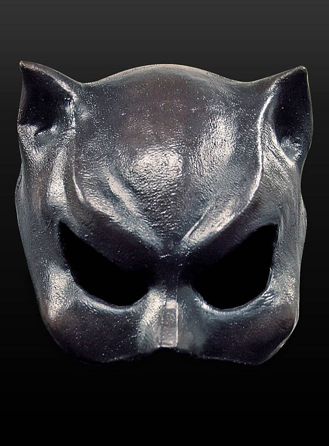 Catwoman Maske aus Latex