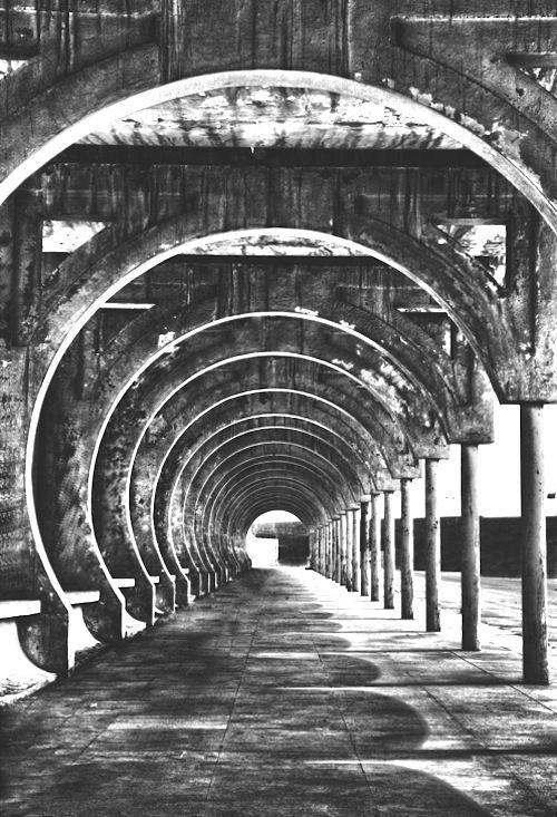 'corridor of hell' by saud alrshiad: Walks, Arquitetura Architecture, Arches, Mora Photography, Architecture Urban