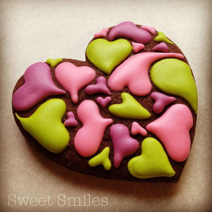 Colourful Heart | Cookie Connection