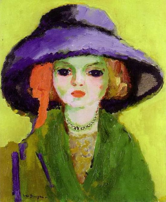Kees Van Dongen, Portrait de Dolly, 1911