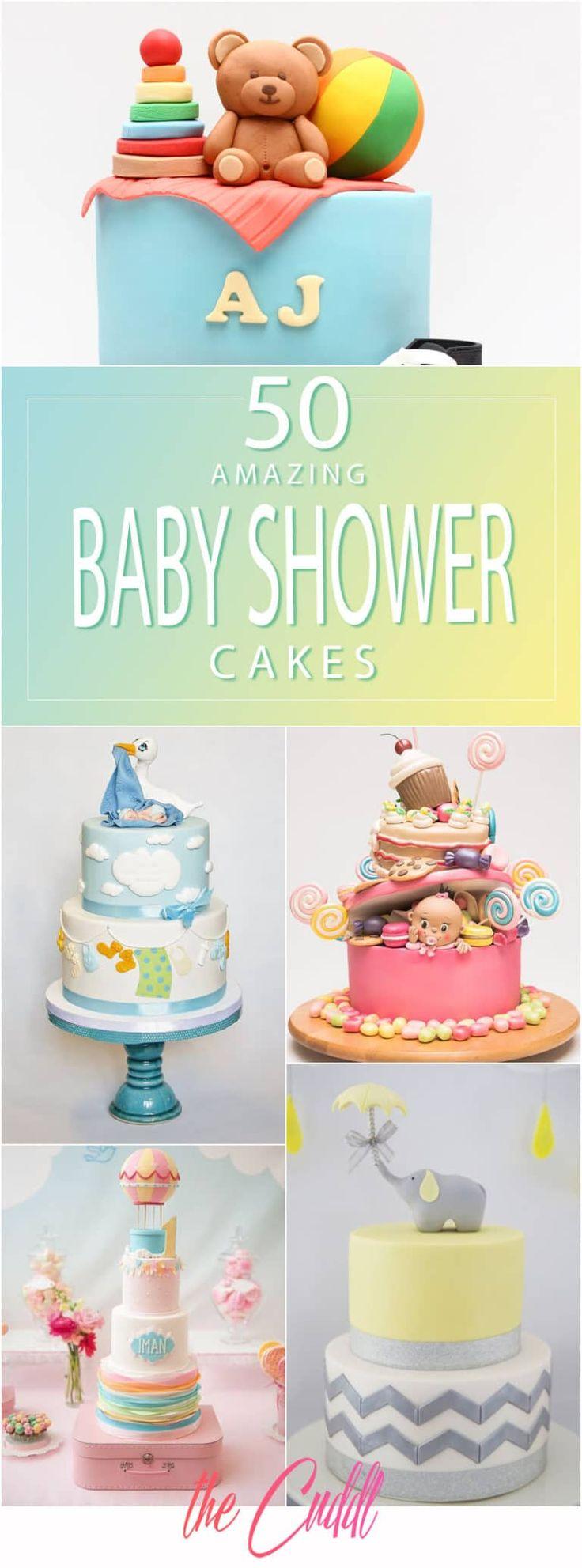 50 erstaunliche Babyparty-Kuchen-Ideen, die Sie 2019 anspornen   – Cake Ideas