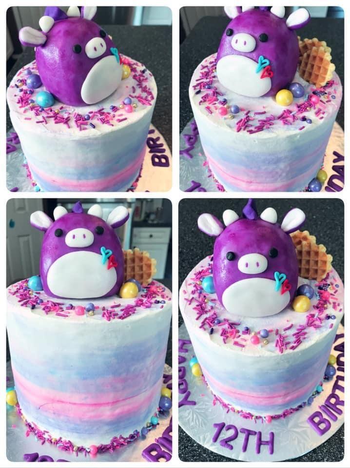 Squishmallow Cake Cake Birthday Cake Birthday