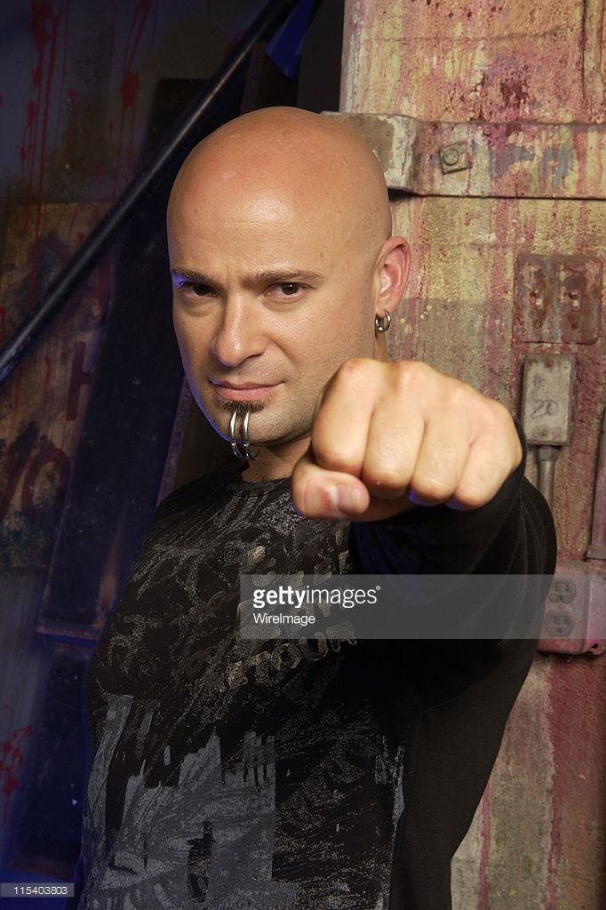 David Draiman of Disturbed during Disturbed Portrait Session - July 24, 2005 in Los Angeles, California, United States.