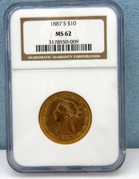 This Item Is Unavailable 1887 S Gold Us 10 Dollar Liberty Head Eagle Coin Ngc Mint State 62 Sku Usgc 1093 In 2020 Eagle Coin Gold Eagle Coins Gold American Eagle