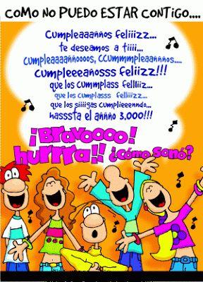 Imágenes para Cumpleaños: Canción cumpleaños feliz Teresa Restegui http://www.pinterest.com/teretegui/