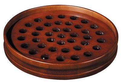 Walnut Stain Communion Tray