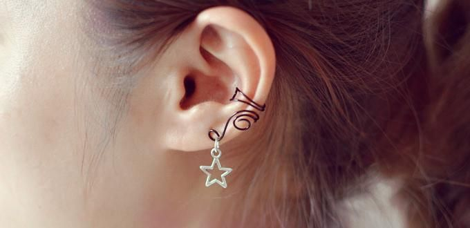 How to Make Wire Ear Cuffs for Unpierced Ears - A Little Craft In Your Day
