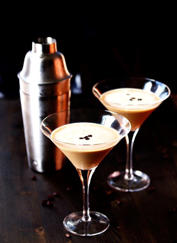 Espresso Vodka Martini - A delicious and fun way to get a shot of caffeine to pick u up when you need it.