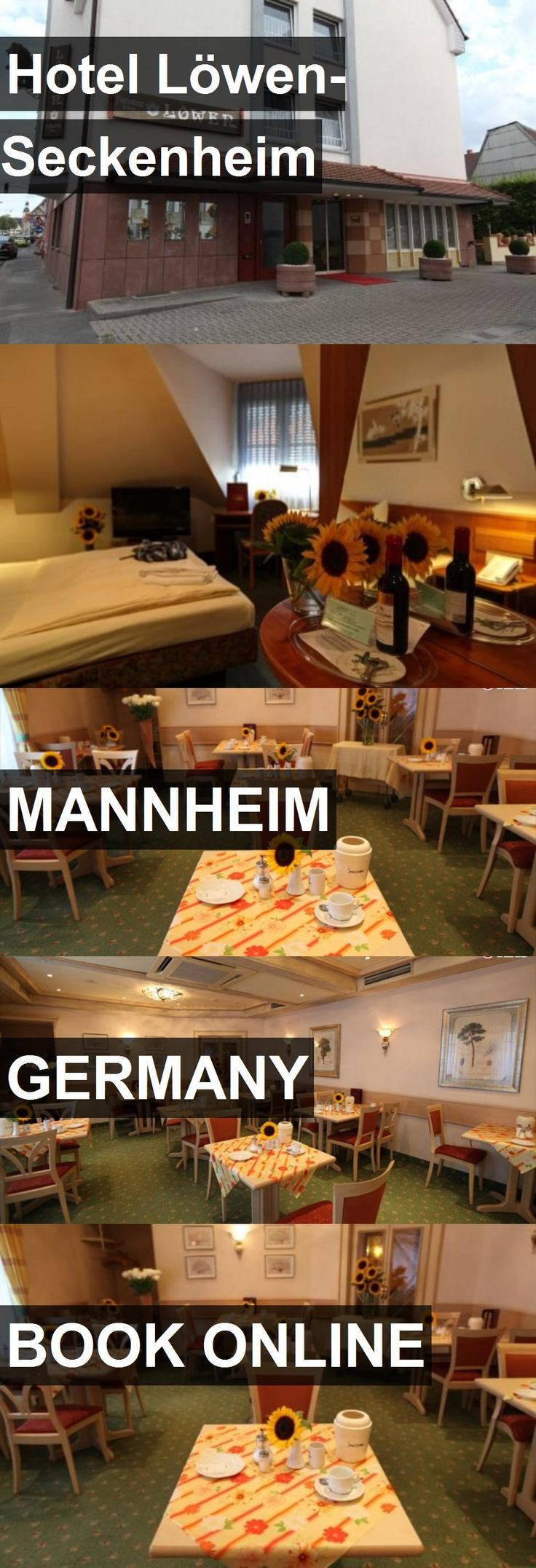 Hotel Löwen-Seckenheim in Mannheim, Germany. For more information, photos, reviews and best prices please follow the link. #Germany #Mannheim #travel #vacation #hotel