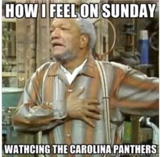 How I feel watching Carolina Panthers football.