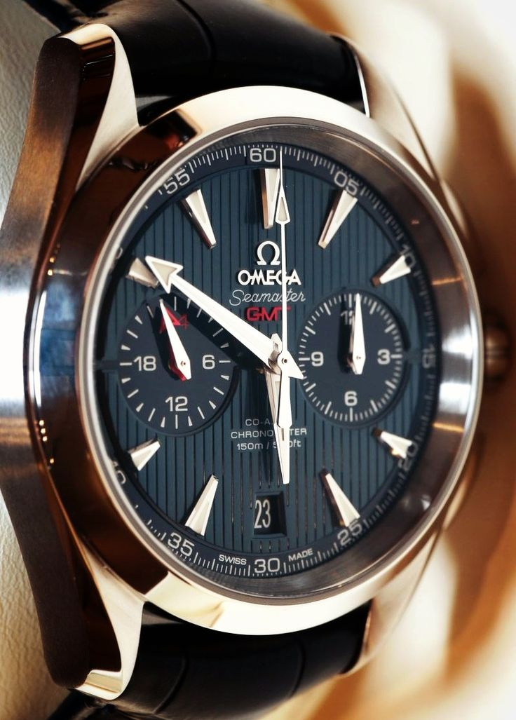Omega Aqua Terra Chronograph GMT Watch Hands-On