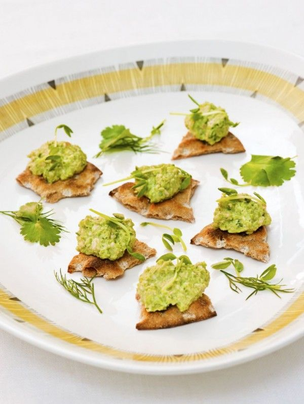 "Green Pea and Walnut Dip. This is listed under ""appetizer"" on the right hand side when you go to the home page. It looks so good,its worth the trouble of searching for!"