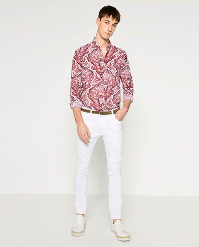 Image 1 of PRINTED SHIRT from Zara