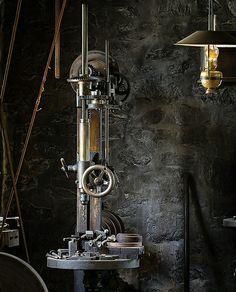 Antique small drill press   Flickr - Photo Sharing!