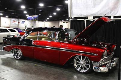 Kandy apple 56 Chevy..Re-pin brought to you by agents of #carinsurance at #houseofinsurance in Eugene, Oregon