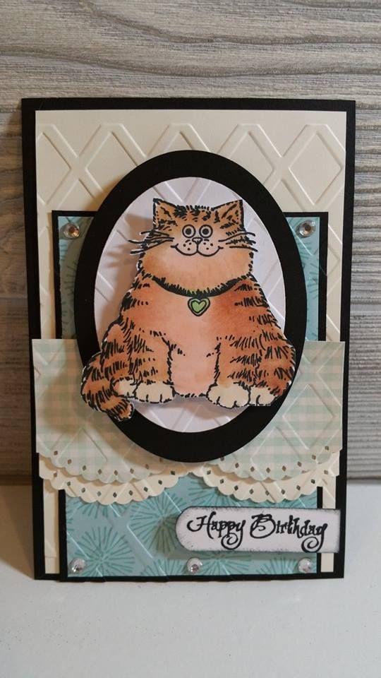 Fat Kitty Card