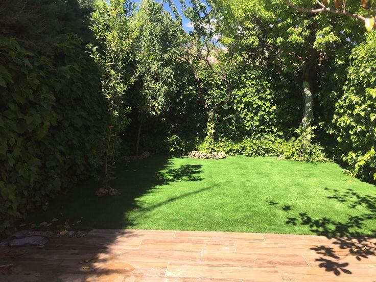 Mejores 42 im genes de c sped artificial jardines en for 40 nuevos disenos de pequenos jardines