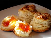 Coconut Biscuits with Guava Jelly: Coconut Biscuits with Guava Jelly