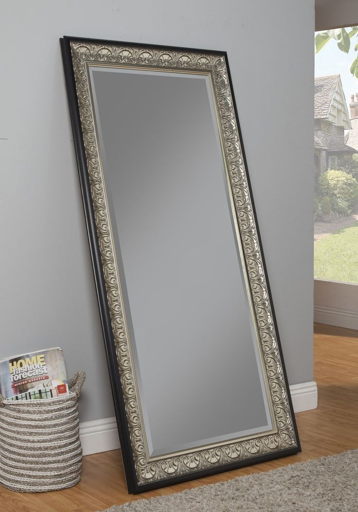 Features:  -Can be used as a leaner mirror or mounted on the wall either vertically or horizontally.  -D-ring brackets already attached for easy wall mounting.  -Beveled glass.  Shape: -Rectangle.  St