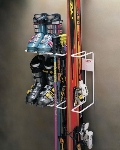 Racor Pro SR-2R Two Pair Ski Storage Rack for Skis, Boots and Poles - Amazon.com
