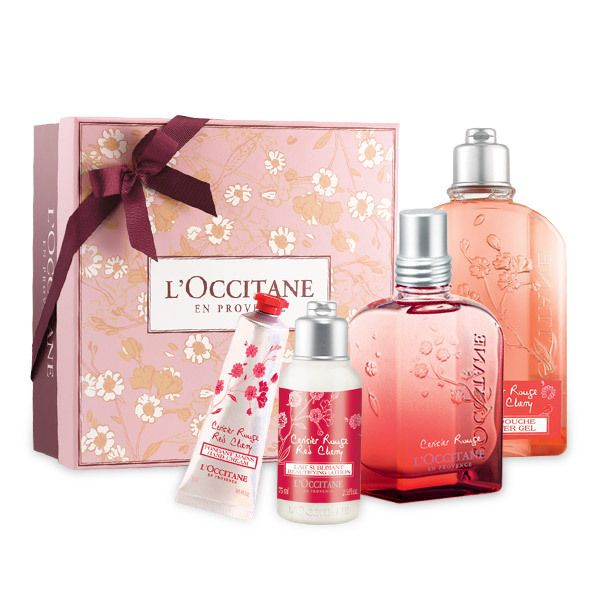 Forgo the flowers this Valentine's Day and surprise her with our new limited edition Cerisier Rouge, a mouthwatering fragrances ofcrisp fruits and the enveloping softness of cherry blossoms.