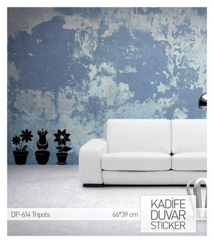 Giysilerde kullanılan yüksek kaliteli kumaşlarla üretilen Kadife Duvar Stickerları her türlü duvara yapışır ve duvarlarınıza farklılık katar. www.artikeldeko.com.tr PARANIZIN TM KARŞILIĞIDIR.
