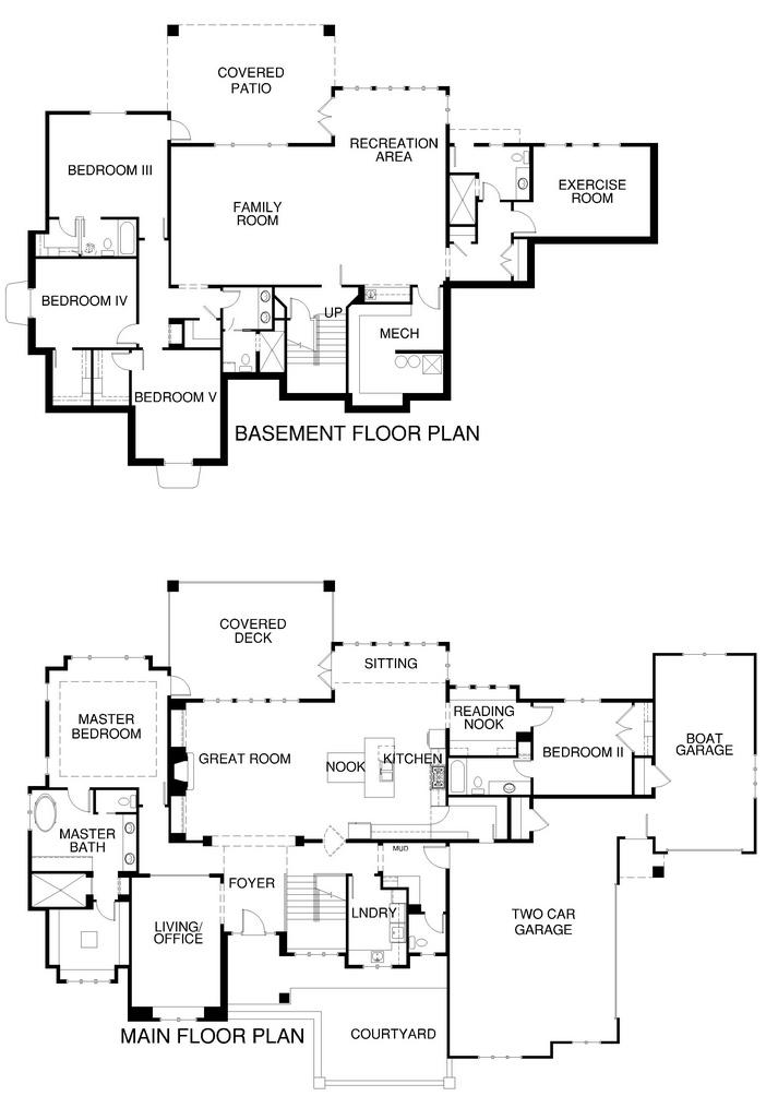 Utah parade of homes floor plans gurus floor for Utah floor plans