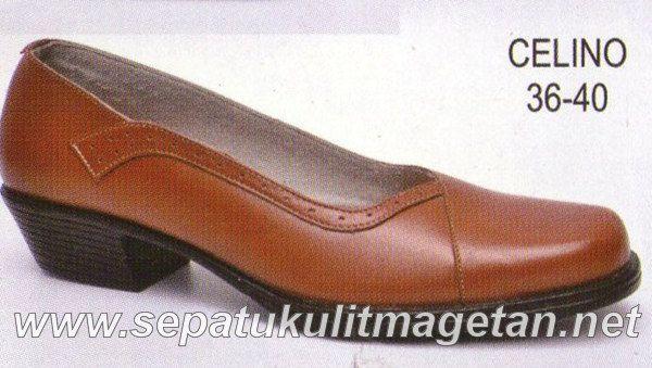 Sepatu Kulit Asli Wanita CJ Celino