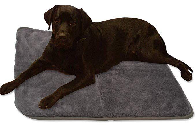 Gdworld Hundedecke Decke 70 X 100 Cm Grau Kissen Hund Schlafplatz