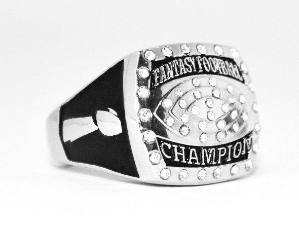 Trophies are fun but rings establish dominance! Order your Fantasy Football Championship Ring today and have it in time for your draft party! www.FantasyJoneZ.com