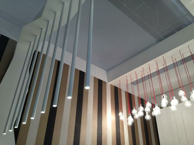 #Lines #lighting and #details of Effebi #stand at #EuroShop Messe Düsseldorf GmbH #design #store