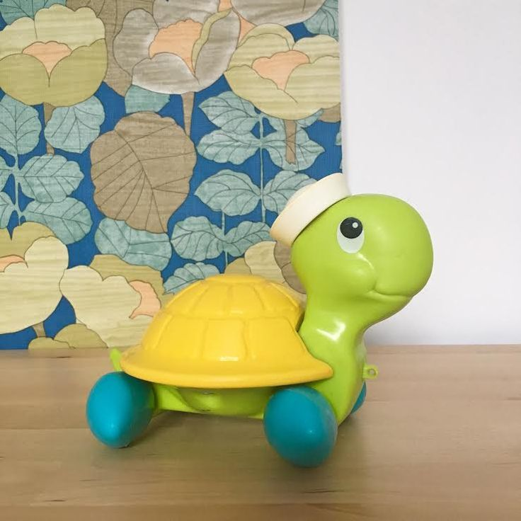 Orangevertevintage — Tortue Fisher Price Vintage