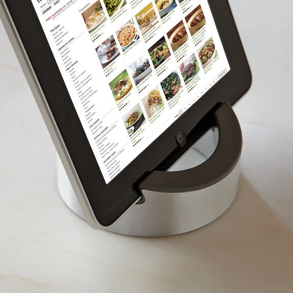 Williams-Sonoma Smart Tools Kitchen Stand for Tablets   Williams-Sonoma - Please tell Dad I want this!