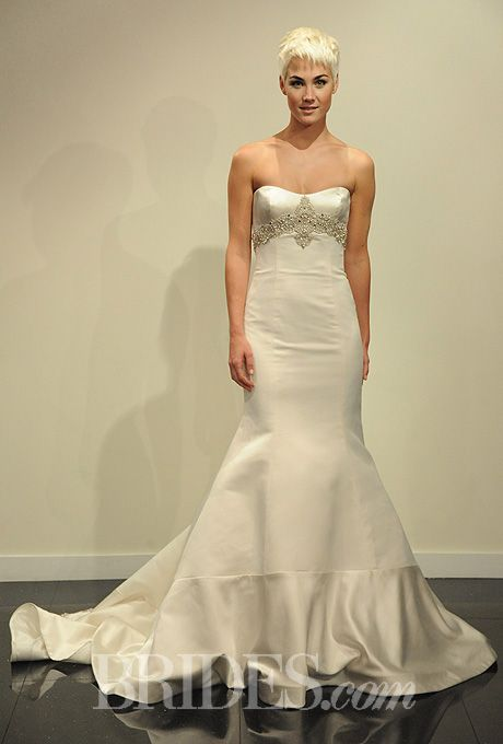 Victor Harper Wedding Dresses Fall 2014 Bridal Runway Shows | Wedding Dresses Style | Brides.com