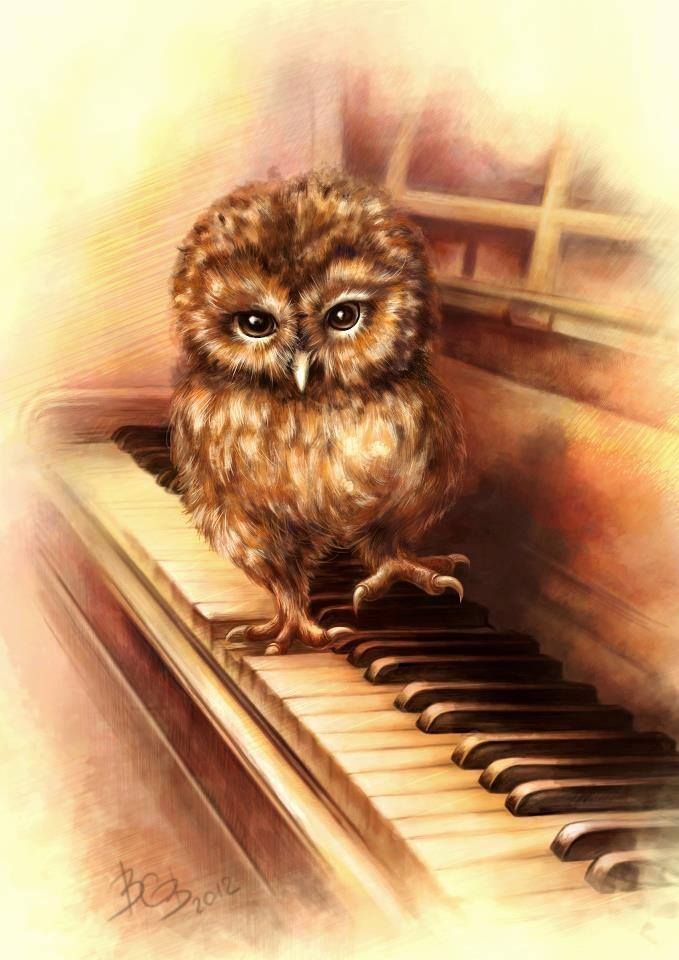 Owl Be Seeing You, In All The Old Familiar Places, That This Heart Of Mine Embraces, All Day Through An'  Through....WhÔô...WhÔô.....~ c.c.c.~ Artist: Vasilisa Volkova
