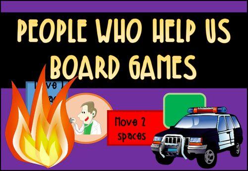 People Who Help Us Board Games