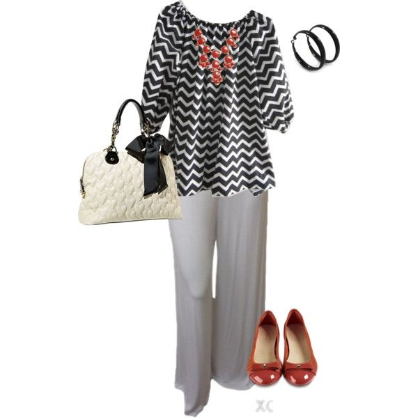 A fashion look from March 2014 featuring Cole Haan flats and Betsey Johnson handbags. Browse and shop related looks.