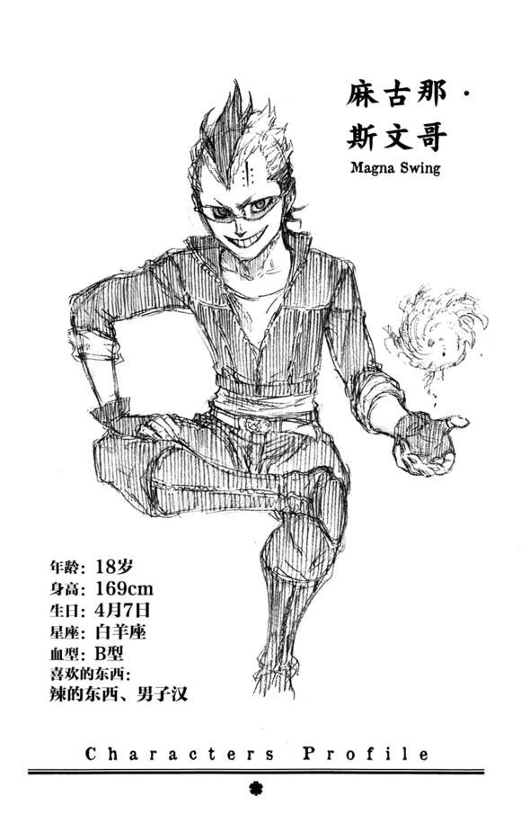 Black Clover characters profile: Magna Swing   Anime ...