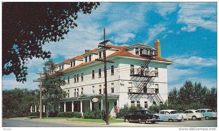 C'est le Madawaska Inn construit en 1917 par Fraser près de l'actuel pont Fournier. En 1967, on enlève un étage et cela devient le Motel Lynn et actuellement, c'est Les résidences funéraires Brunswick.