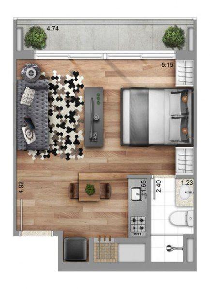 59+ Ideas For Apartment Studio Layout Decor Floor Plans