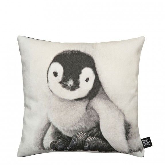 By Nord Baby Penguin Cushion