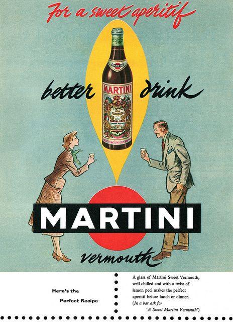 Vintage Italian Posters ~ #illustrator #Italian #posters ~ Martini