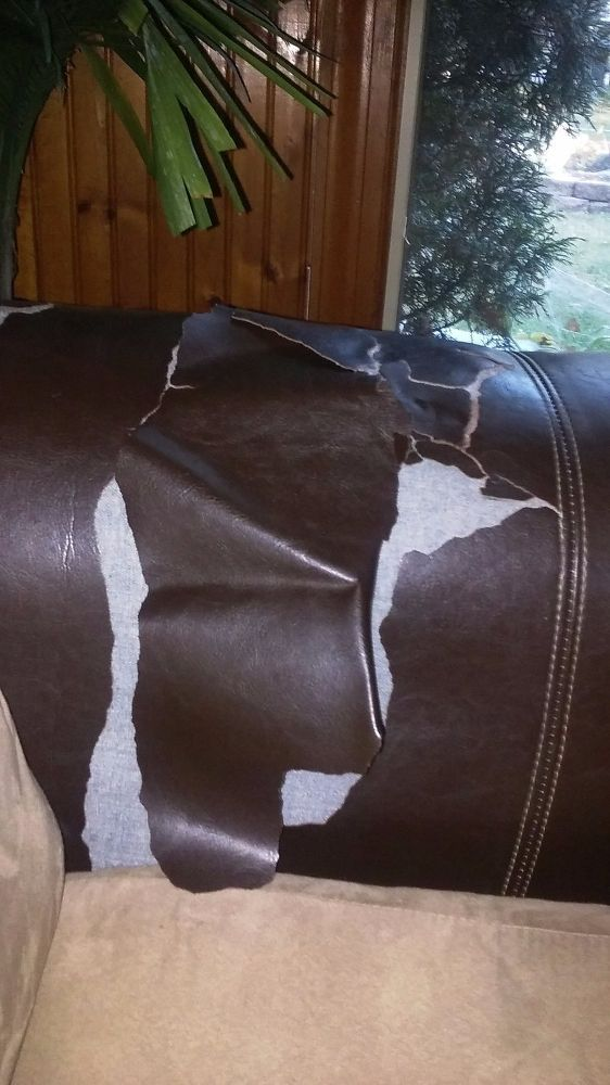 Help to repair my leather sofa