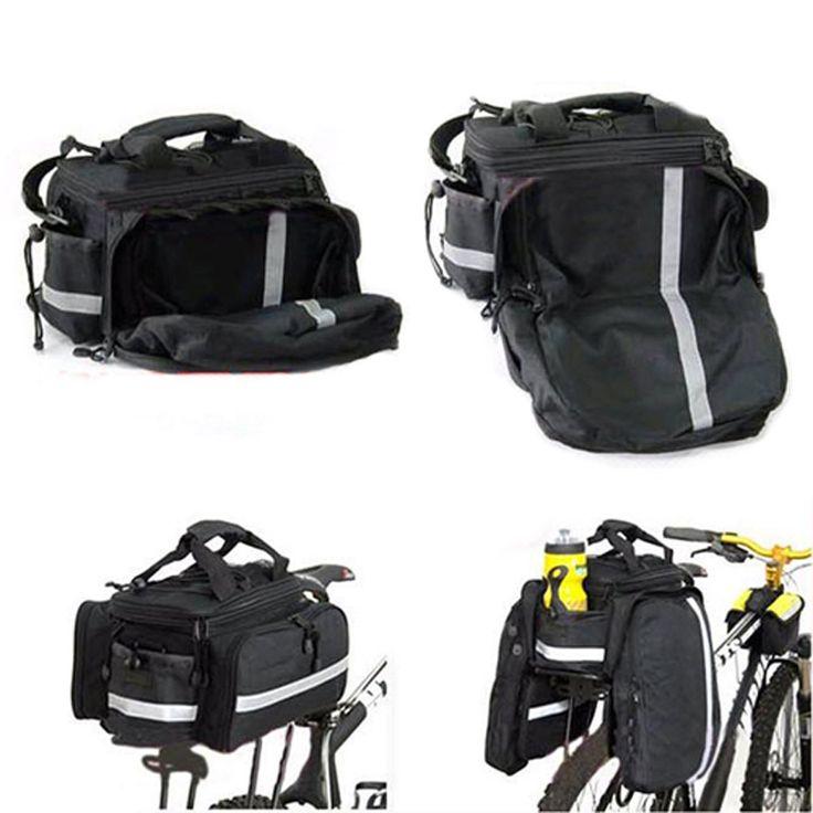 2016 alforjas bicicleta trasera Rear Seat Trunk Bag Waterproof Bike Cycling Bicycle Handbag rear bike pannier