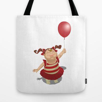 When I Grew Up Tote Bag by ALgaGIgu - $22.00