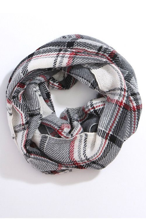 We just got in the BEST new Gray White Scarf!!!  A FALL MUST HAVE!  Order today at http://wildtyboutique.com/products/gray-white-scarf?utm_campaign=social_autopilot&utm_source=pin&utm_medium=pin